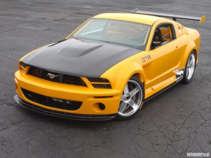 Ford Mustang GTR Concept 2005
