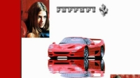 Ferrari F50 Denise Richards
