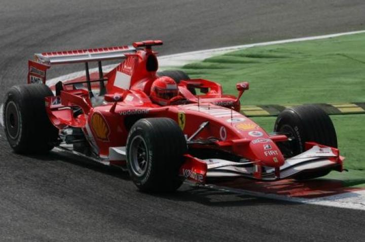 Michael Schumacher Ferrari F1 2006