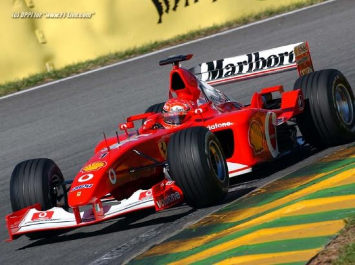 Michael Schumacher In Ferrari F1 2002
