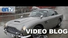 "James Bond Skyfall ""Aston Martin DB5"" Video Blog: Daniel Craig Dusts Off The Classic Bond Car"